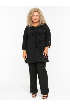 Блузка 140108401 (Черный)
