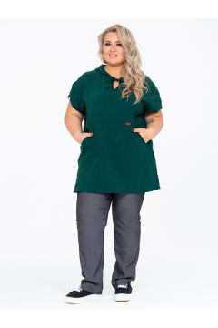 Блузка 150109110 (Зеленый)