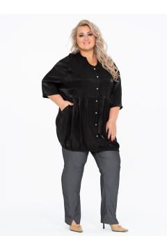 Блузка 150109801 (Черный)