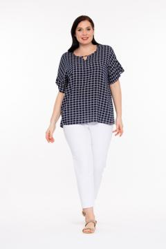 Блуза 2220015 (Темно-Синий)
