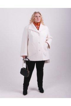 """Пальто """"Тревери"""" 79505 (Белый)"""