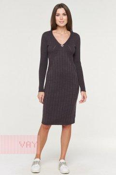 Платье женское 182-2367 (Графит)
