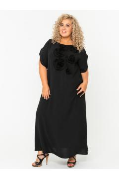 Платье 140203401 (Черный)
