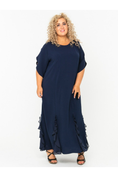 Платье 140203604 (Синий)