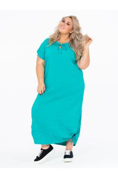 Платье 150203712 (Бирюзовый)