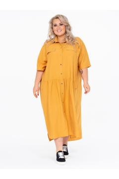 Платье 150203852 (Песочный)