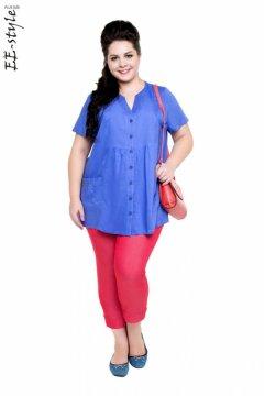 """Блуза """"Её-стиль"""" 1107 (Сизый)"""