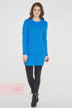 Туника женская 192-4815 (Голубая лазурь)