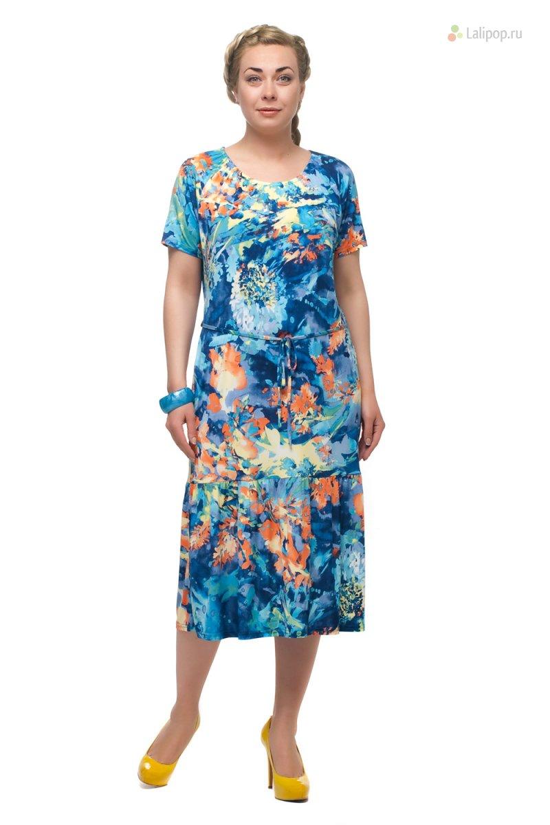 Летнее Платье Для Пожилой Женщины Купить