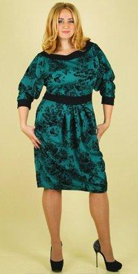 Каталог женских платьев больших размеров