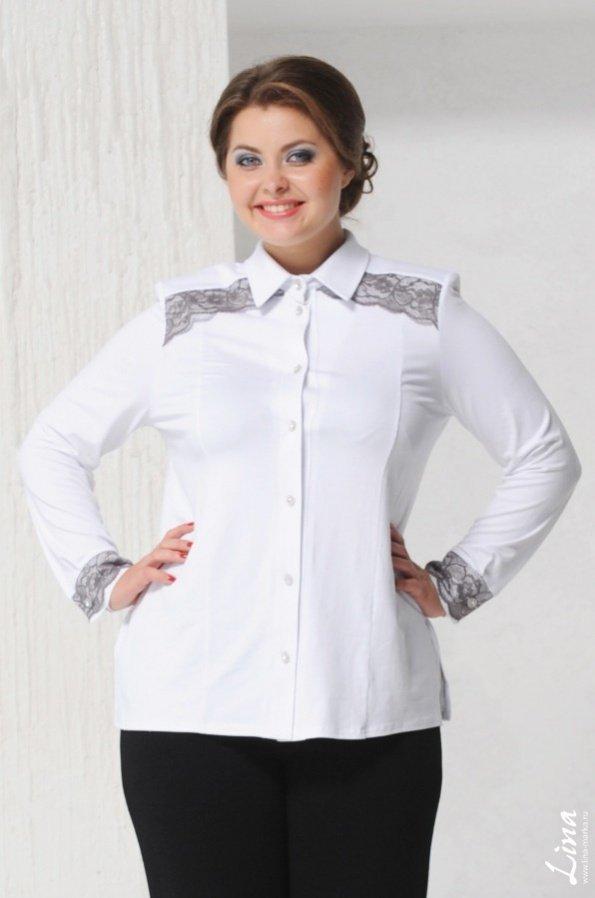 c32bdfef459 Женские рубашки большого размера – модно