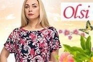 Новинки одежды больших размеров от Олси!